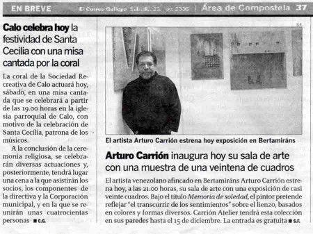 """Exposición """"Memoria de la soledad"""""""